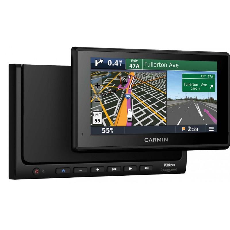 Gps Garmin Et Autoradio Avec Tablette Autonome Wifi Bbt602 Camera
