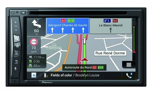 STATION MULTIMEDIA GPS PIONEER AVIC-Z620BT-C - DUCATO SANS COMMANDE AVEC ACCESSO