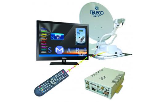 TELECO PACK KOMFORT FLAT SAT 65 CM + TV 19' + DEMO HD