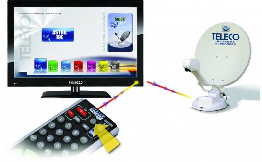 TELECO FLATSAT ELEGANCE 65 CM + TV 19' + DEMO HD
