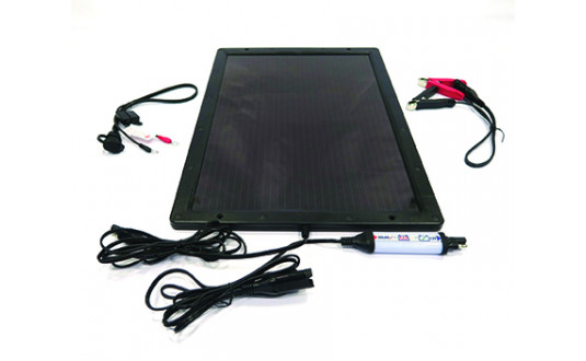 CHARGEUR OPTIMISEUR SOLAIRE DE BATTERIE - OPTIMATE SOLAR PANEL
