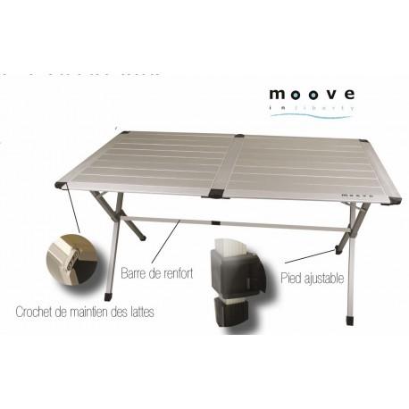 TABLE MOOVE 110 ALU