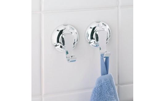 Accessoires douche ventouse - Crochet ventouse salle de bain ...