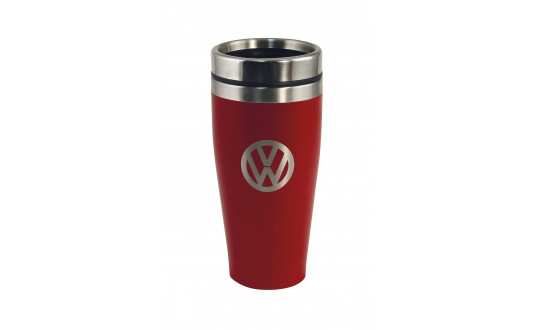 MUG ISOTHERME VW ROUGE - 400 ML