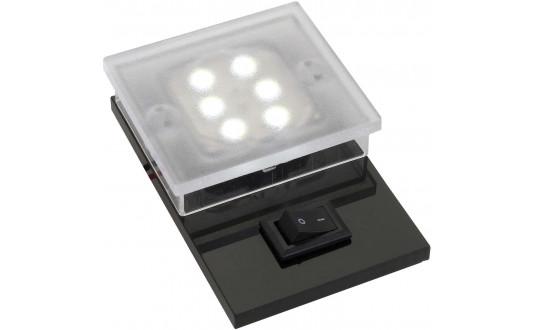 SPOT FIXE 6 POWER LEDS 45 X 40 X 11