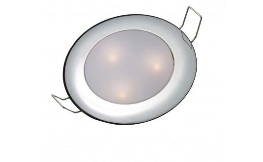 SPOT FIXE À LED 3 LED OSRAM CHROMÉ