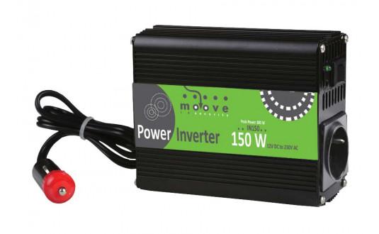 CONVERTISSEUR MOOVE 150W QUASI SINUS POUR CAMPING-CAR