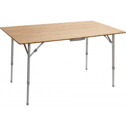 TABLE PLIANTE PLATEAU BAMBOU 80 x 60 x 65 - BRUNNER