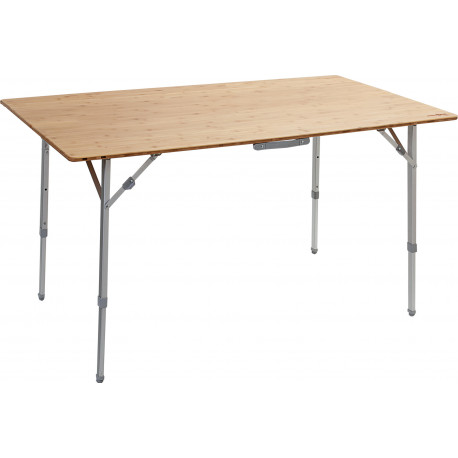 TABLE PLIANTE PLATEAU BAMBOU 100 x 72 x 70 - BRUNNER
