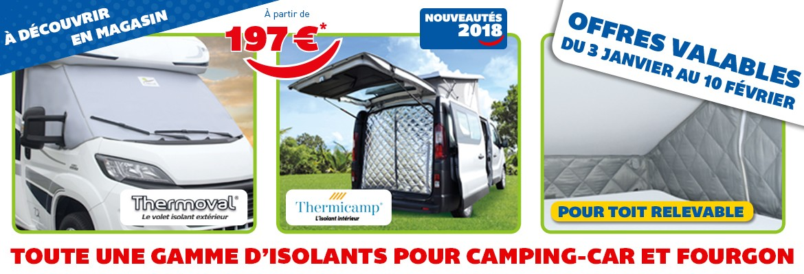 Isolant Thermoval et Thermicamp