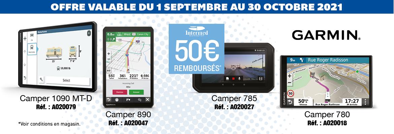 Top Affaires GPS Garmin - Top Accessoires - Du 1 septembre au 30 octobre 2021
