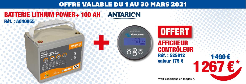 TOP AFFAIRES - Batterie Lithium